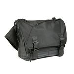 COMPOUND MESSENGER BAG-S BLACK
