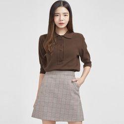 hide button collar knit