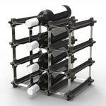누크 와인랙 12병형 DIY 모듈러형 손쉬운 조립 보관