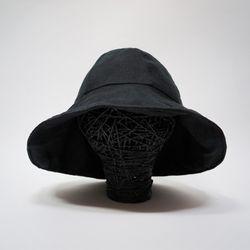린넨 모자 [양면] 버킷햇 벙거지