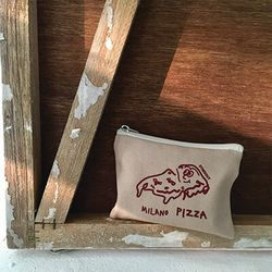 MILANO PIZZA mini pouch
