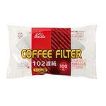 칼리타 커피 필터 NK-102 백색 100매