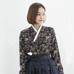 금잔디 장저고리(블랙)