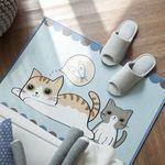 [natural365]고양이와 생선 발매트