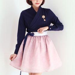 미니 시크릿 허리치마(핑크)