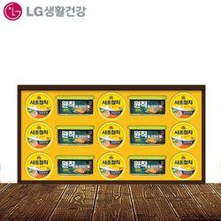 [무료배송] LG생활건강 원칙튜나100호 박스단위4개입