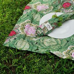 콜리플라워 키친크로스 : Cauliflower kitchen cloth