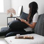 올 블랙 에브리띵 쿠션방석 커버 (70x70)