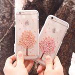 [TryCozy]벚꽃나무 투명 젤리.갤럭시S5(G900)