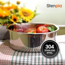 [스텐피아] D형 스테인레스 설거지통(CN7124)