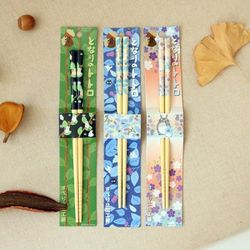 토토로 대나무 젓가락 (3design)