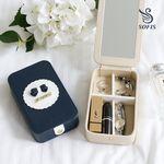[소피스]클래식 휴대용 쥬얼리 박스