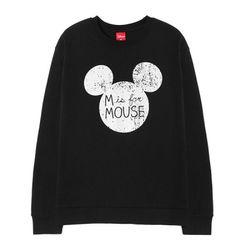 디즈니 마우스 미치 기모 맨투맨티DS103
