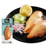 [무료배송] 저염 훈제 닭가슴살 100gX100팩(10kg)