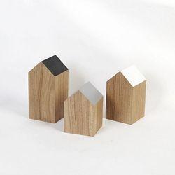 스칸-우드 인테리어 하우스 장식 소품 3개세트