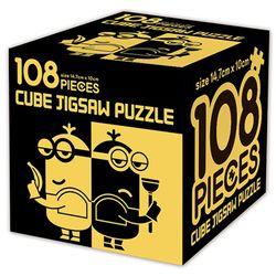 슈퍼배드 3 큐브 직소퍼즐 108조각 뉴 블랙