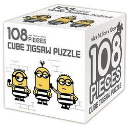 슈퍼배드 3 큐브 직소퍼즐 108조각 악당 미니언즈