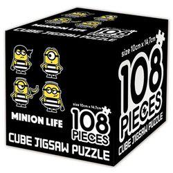 슈퍼배드 3 큐브 직소퍼즐 108조각 미니언 라이프