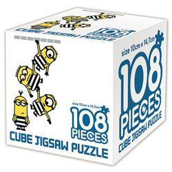 슈퍼배드 3 큐브 직소퍼즐 108조각 다크 미니언