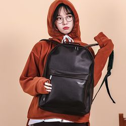 [UNBROWN] show me back daily backpack (black)