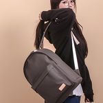 [UNBROWN] Crayon back pack (gray)