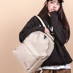 [UNBROWN] Crayon back pack (ivory)