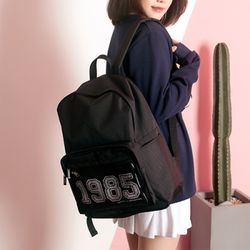 [UNBROWN] 1985 - Three Concept Backpack (BLACK)
