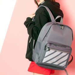 [UNBROWN] 1985 - Three Concept Backpack (GRAY)