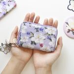 마리몬드x디랩 Card Wallet - 백목련(바이올렛)