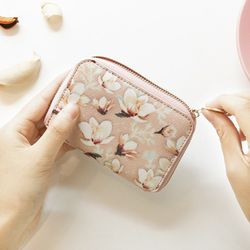 [스트랩 증정] 마리몬드x디랩 Card Wallet - 백목련(핑크)