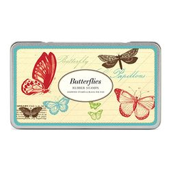 Cavallini 빈티지 스탬프 세트 Butterflies