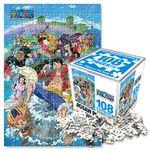 원피스 큐브 직소퍼즐 108pcs 워터월드