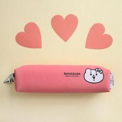 적극적인 곰 미니파우치 Pink
