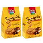 로아커 샌드위치 웨하스 초콜릿 200g 2개묶음