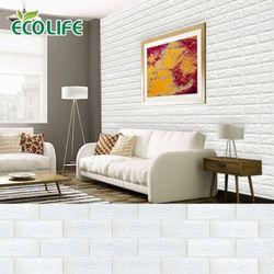 [대표이미지수정요청] KS인증 폼블럭 100x50cm 벽돌시트지 단열벽지 파벽돌