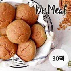 닥터밀 오직통밀 쑥 모닝빵 30팩 (70g)
