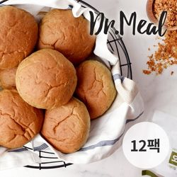 닥터밀 오직통밀 쑥 모닝빵 12팩 (70g)