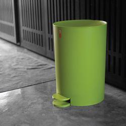 페달 휴지통 11L 쓰레기통 색상4가지