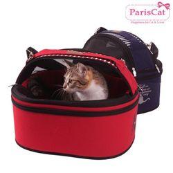 패리스캣 고양이 원형 돔캐리어 반려묘