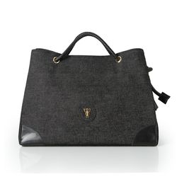 Rope shoulder bag - Black(L) (로프숄더백)