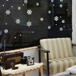 그래픽스티커 눈꽃 (GBS-C005)크리스마스 눈꽃송이(D)