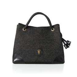 Rope shoulder bag - Black(S) (로프숄더백)