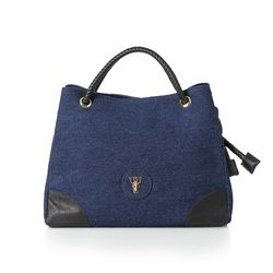 Rope shoulder bag - Blue(S) (로프숄더백)