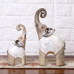 자개코끼리장식품 GD202 인테리어소품 코끼리소품