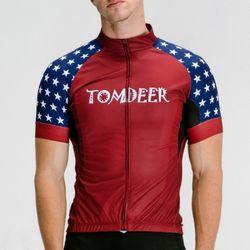 톰디어 자전거의류 캡틴스타 반팔져지