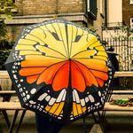 [원더스토어] 썩유케이 나비 무늬 3단 단우산