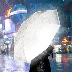 [원더스토어] 썩유케이 안전 반사 3단 단우산