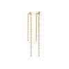 [박시연 착용] Dreamer Dots Drop Earrings Gold