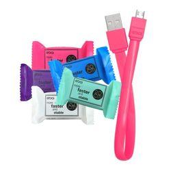 이바이 캔디 마이크로 5핀 20cm USB 케이블