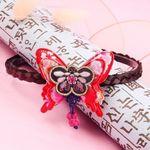아씨 나비 배씨 댕기 한복 머리띠